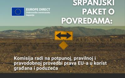 Srpanjski paket o povredama: Komisija radi na potpunoj, pravilnoj i pravodobnoj provedbi prava EU-a u korist građana i poduzeća