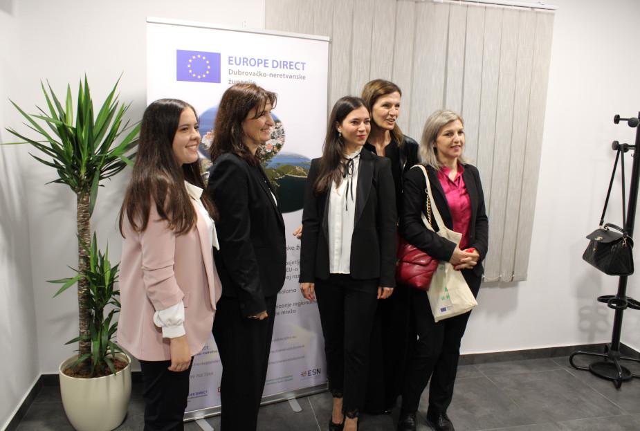 U Opuzenu otvoren EUROPE DIRECT centar, mjesto gdje građani mogu sudjelovati u kreiranju budućnosti EU